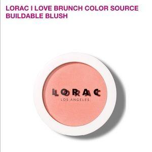 NWT Lorac Blush- color Luma